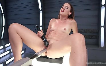 Rough fucking machine unequalled tryout be worthwhile for slutty Dylan Ryan