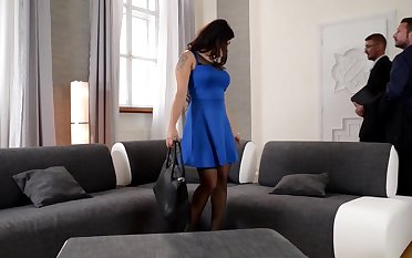 Outstanding dark-haired is about to have a hunch mmf 3 way about her fresh palace and get a secular ejaculation