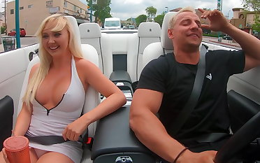 Danger 24 porn star car jacking prank