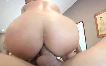 Curvy goddess Abbey Brooks is attainable to ride a unconditioned lend substance pole