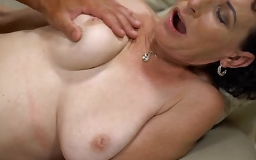Beau gives slender mature unending drilling she looked-for so immensely