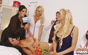Group sex party anent horny stars Tammie Lee and Sammy Jayne
