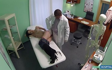 Milf wants breast implants coupled with gets a creampie injection instead