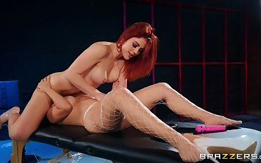 Redhead mating video featuring Molly Stewart and LaSirena69