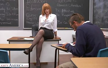 Prof. Sara Jay gives student her big ass!