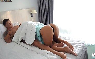 Hot MILF Rides Boyfriends Big Cock