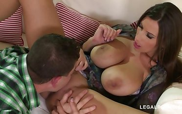 Fucking of forgiveness gives busty bombshell Gross Jane endless climaxes GP889