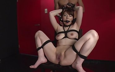 Pleasing Japanese Reika Ichinose performing in servitude porn