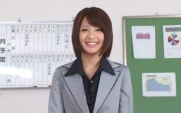 Yuuki Natsume comely Asian babe masturbated
