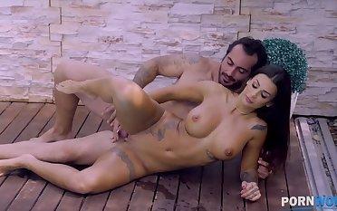 Spanish pornstar Susy Gala gets a gooey facial certificate hardcore sex poolside GP1404