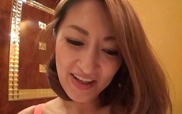 Horny Japanese model Fukiishi Rena gets fucked hard in POV video