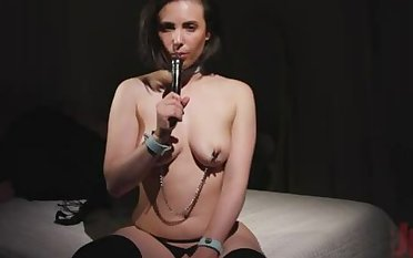 JOI be beneficial to Daddy: Casey Calvert Fucks All Her Holes be beneficial to You