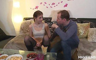 Teen Samantha In Dramatize expunge Kitchen