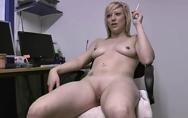 Snug tits blondie Axa Jokester moans for ages c in depth fingering her fuck opening