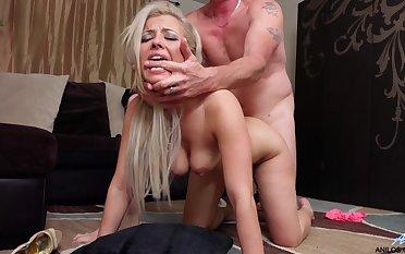 Older guy enjoys fucking his stunning MILF wife Alana Luv