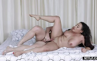 MYLF Latin Goddess Carmela Clutch Gets Her Big Ass Fucked