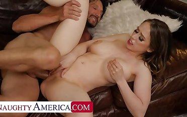 NAUGHTY AMERICA Jackie Hoff wants her friend's dad cock!!!