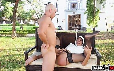 Yudi Pineda Is..The Squirting Nun