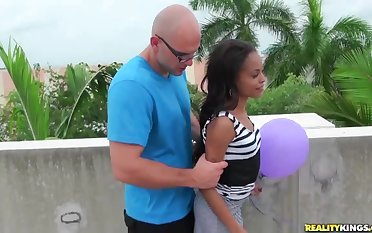 RealityKings - 8th Street Latinas - Boobs And Balloons