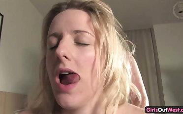 Aussie blonde gets inseminated