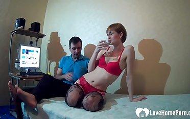 My wife really enjoys hot Saturday sex