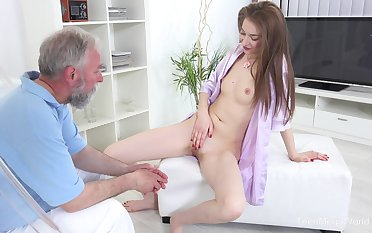 There's nothing better for Roxy C than fucking with an older guy