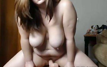 Aphrodisiac BBW Escort With Her Dildo