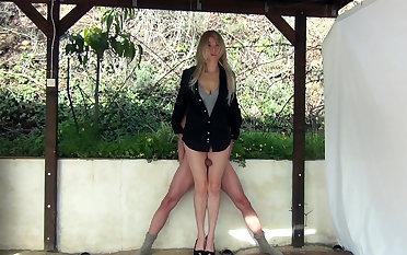 Voyeur Video of MILF Getting Dressed