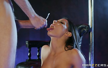 Madison Ivy swallows ask preference a pro after merciless sex at the strip club