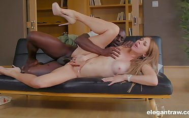 Paulina Soul hard anal and pussy with a black dude