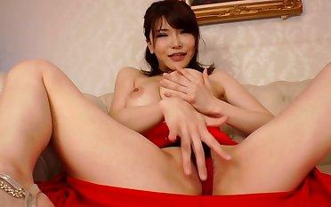 在看來是真正 nakadashi 身體皂夫人 Okita 杏梨和 HND-066