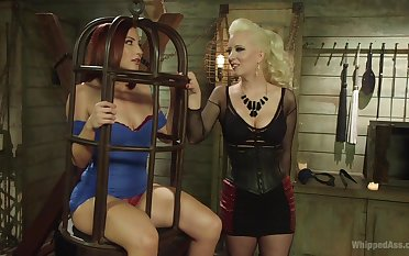 BDSM is amazing take on for lesbians Cherry Torn and Sophia Locke